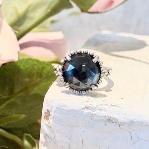Pandora Midnight Star Ring silver/blue